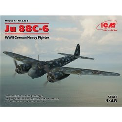 ICM 48238 1/48 Ju 88C-6 WWII German Heavy Fighter