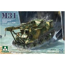 Takom 2088 1/35 M31 US Tank Recovery Vehicle