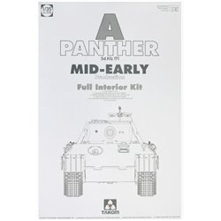 Takom 2098 1/35 Panther Ausf. A mid-early prod. (full interior)