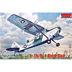 RODEN 409 1/48 L-19/O-1 Bird Dog Asian Service