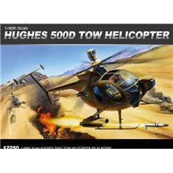 Academy 12250 1/48 HUGHES 500D TOW HELICOPTER