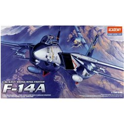 Academy 12471 1/72 U.S. Navy Swing-Wing Fighter F-14A