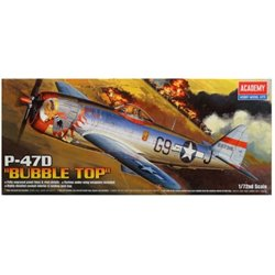 Academy 12491 1/72 Republic P-47D Thunderbolt 'Bubbletop'