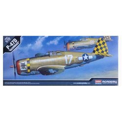 Academy 12492 1/72 Republic P-47D Thunderbolt 'Razorback'