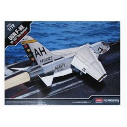 "Academy 12521 1/72 USN F-8E VF-162 ""The Hunters"""