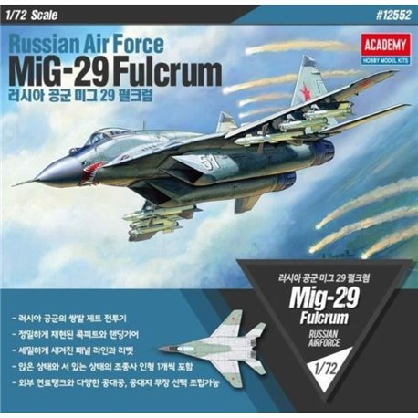 Academy 12552 1/72 Russian Air Force MiG-29 Fulcrum