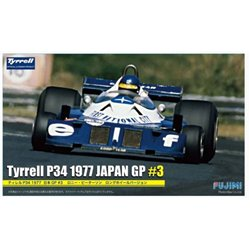Fujimi 090900 1/20 Tyrrell P34 Japan Grand Prix n°3 Wide Tread (Peterson)