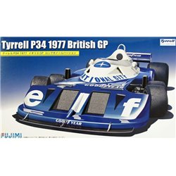 Fujimi 091914 1/20 Tyrrell P34 1977 UK Grand Prix