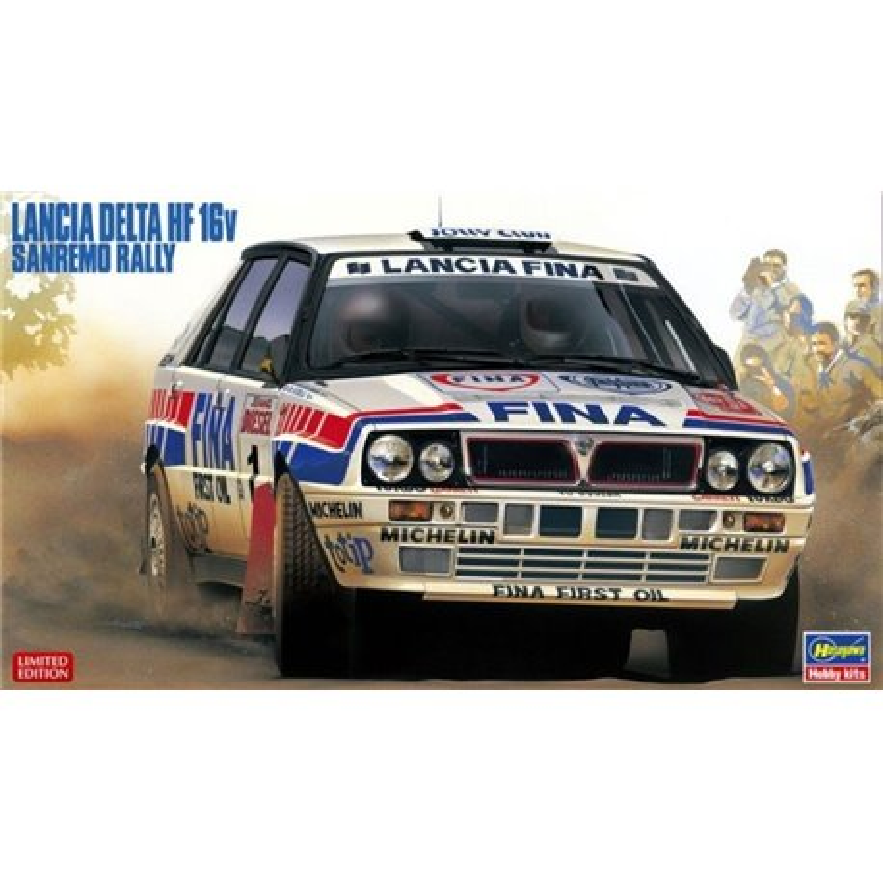 HASEGAWA 20343 1/24 Lancia Delta HF Integrale 16v Sanremo Rally Didier Oriol