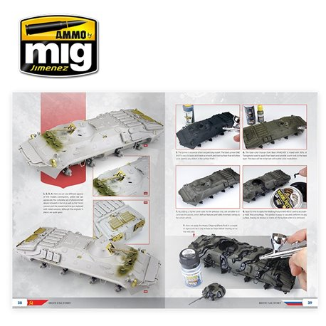 AMMO OF MIG A.MIG-6106 The Weathering Special Iron Factory Français