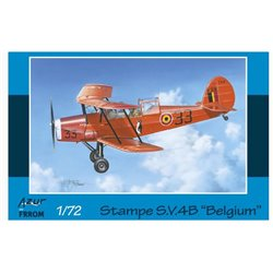 Azur by Frrom FR0024 1/72 Stampe S.V.4b Belgian Air Force
