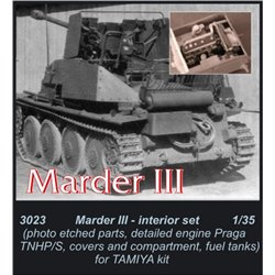 CMK 3023 1/35 Marder III Engine set For TAMIYA