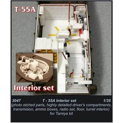 CMK 3047 1/35 T-55A Interior set For TAMIYA