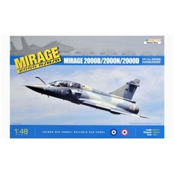 Kinetic KIN48032 1/48 Dassault Mirage 2000B/N/D French Air Force / Hellenic Air Force
