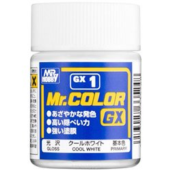 GUNZE Sangyo Mr Color GX1 Primer Blanc Froid - Cool White 18ml