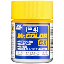 GUNZE Sangyo Mr Color GX4 Primer Jaune Chiara - Chiara Yellow Gloss 18ml