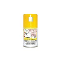 GUNZE Sangyo Gundam Color SG03 Spray Jaune - Yellow Semi-Gloss 100ml