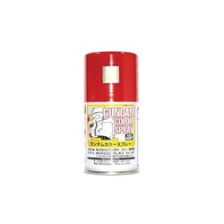 GUNZE Sangyo Gundam Color SG04 Spray Rouge - Red Semi-Gloss 100ml