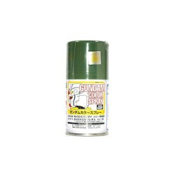 GUNZE Sangyo Gundam Color SG07 Spray Vert Profond - Deep Green Semi-Gloss 100ml