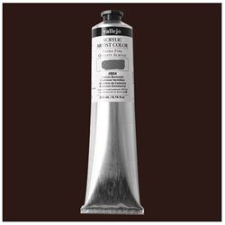 Vallejo 17.302 Acrylic Artist Color Ombre Brûlée - Burnt Umber 200ml
