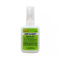 ZAP PT02 Colle Zap-A-Gap CA+ Verte - Green Medium Viscosity 28.3g