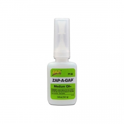 ZAP PT03 Colle Zap-A-Gap CA+ Verte - Green Medium Viscosity 14.1g