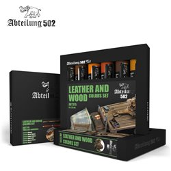 Abteilung 502 Oils Set ABT315 Cuir et Bois – Leather and Wood Set