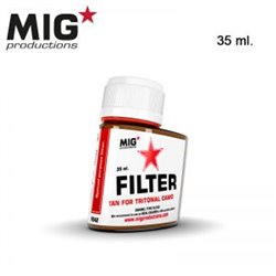 MIG Productions Filter F242 Filtre Hâle – Tan for Tritonal Camo 35ml