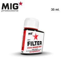 MIG Productions Filter F426 Filtre Rouille Orange – Vivid Orange Rust 35ml