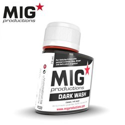 MIG Productions Wash P220 Lavis Foncé – Dark Wash 75ml