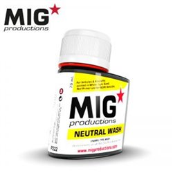 MIG Productions Wash P222 Neutral Wash 75ml