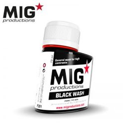 MIG Productions Wash P281 lavis Noir – Black Wash 75ml