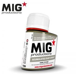 MIG Productions Wash P299 Acumulated Dust Effect 75ml