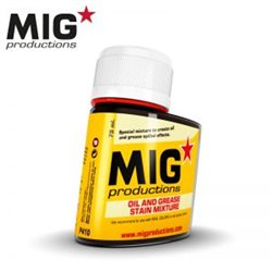MIG Productions Wash P410 Oil and Grease stain Mixture 75ml