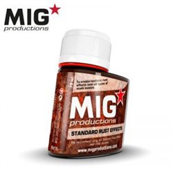 MIG Productions Wash P411 Lavis Rouille – Standard Rust Effects 75ml