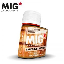 MIG Productions Wash P412 Lavis Rouille Clair - Light Rust Effects 75ml