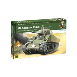 ITALERI 15751 1/56 M4 SHERMAN 75 mm