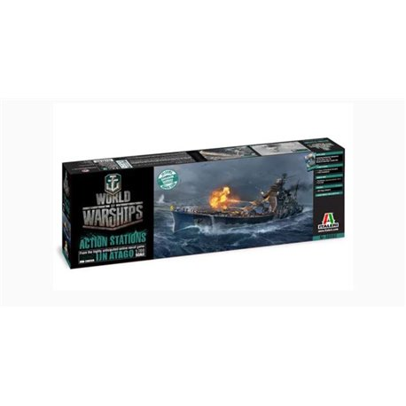 ITALERI 46502 1/700 World of Warships IJN ATAGO