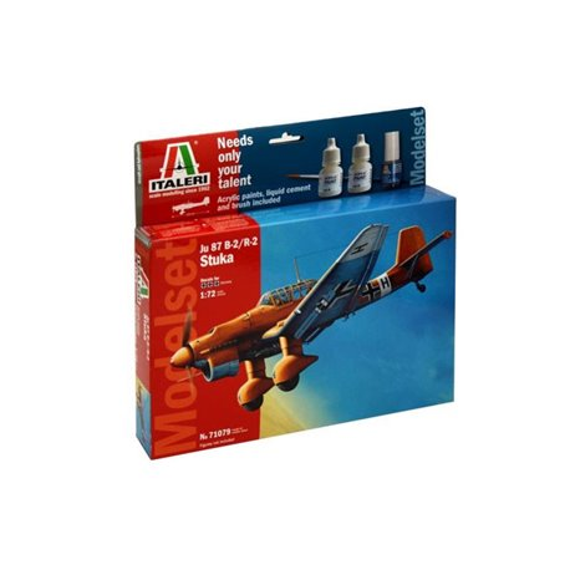 ITALERI 71079 1/72 JU - 87 B2 STUKA - MODEL SET