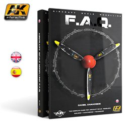 AK Interactive AK276 Aircarft Scale Modelling F.A.Q.English Book