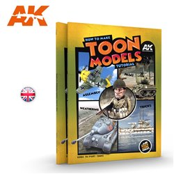 AK Interactive AK911How To Make Toon Models Tutorial Livre en Anglais