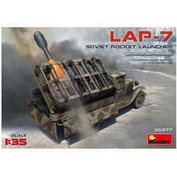 Miniart 35277 1/35 Soviet Rocket Launcher LAP-7