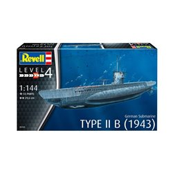 Revell 05155 1/144 German Submarine Type IIB