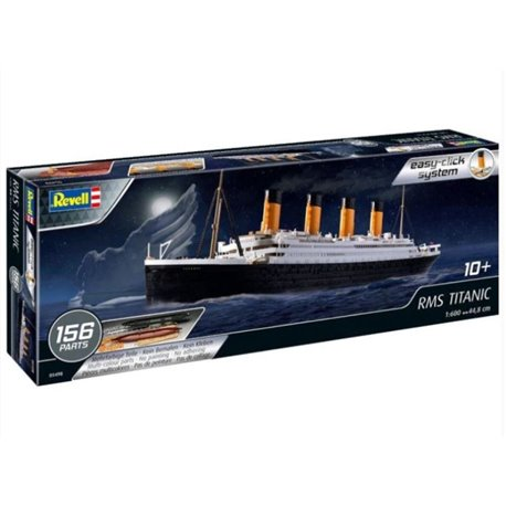 revell 05498 1 600 rms titanic easy click passion 132. Black Bedroom Furniture Sets. Home Design Ideas