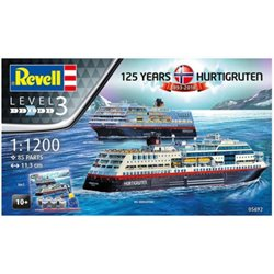 Revell 05692 1/1200 125 Years Hurtigruten 1893-2018