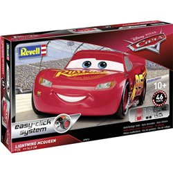 Revell 07813 1/25 Lightning McQueen from Cars 3 Easy Click