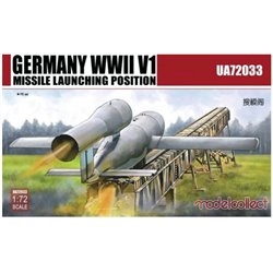 Modelcollect UA72033 1/72 German WW2 V1 launching position