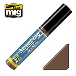 AMMO BY MIG A.MIG-1250 Streakingbrusher Medium Brown