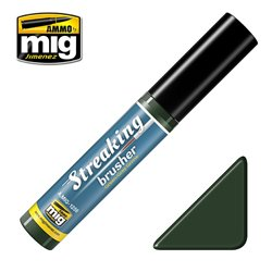 AMMO BY MIG A.MIG-1256 Streakingbrusher Green-Grey Grime