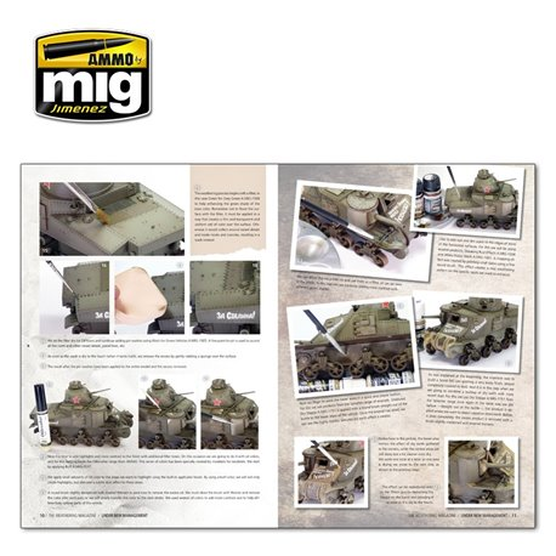 Ammo by Mig Jimenez A.MIG-4273 The Weathering Magazine Under New Management FR